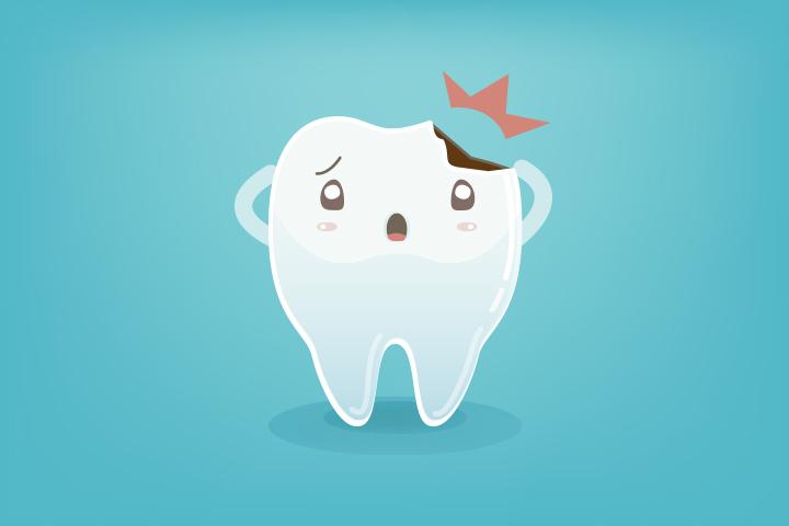 Manual de actuación para dientes rotos